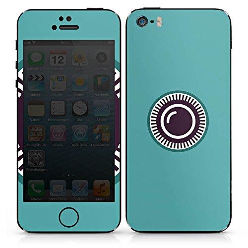 Apple iPhone 3Gs Case Skin Sticker aus Vinyl-Folie Aufkleber Kamera Auge Symbol DesignSkins® glänzend