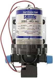 Shurflo Trail King 10 eau-Pompe-Argent - 12 V/30 PSI