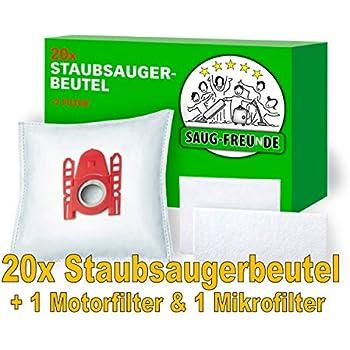 Amazon.de: 8 Original SWIRL S67 Staubsaugerbeutel für