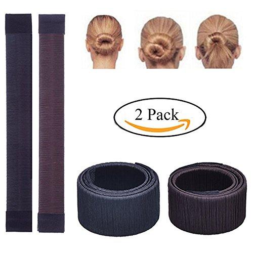 Weisy 2 Pcs Twist Haar Brötchen Styling Braid Halter Zubehör Werkzeug Damen Fashion Haarstyling Tool DIY
