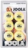 JOOLA Tischtennis-Bälle Rossi Champ 40 orange 6er Blister