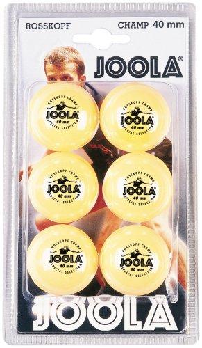 JOOLA Tischtennis-Bälle Rossi Champ 40 orange 6er Blister gebraucht kaufen  Wird an jeden Ort in Deutschland