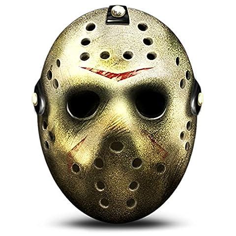 Qualité Halloween - Masque Véritable Jason Voorhees Vendredi 13 Original