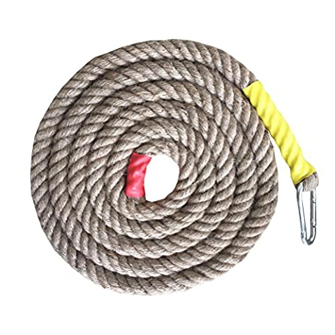 Gym Climbing Ropes (Brown, 10 Ft)
