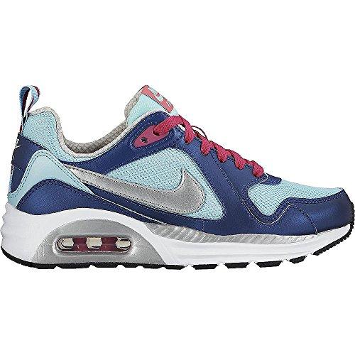 Vente FR Nike Air Max Trax (GS) Schuhe copa-metallic silver-vivid pink-white