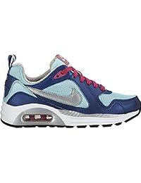 Nike Air Max Trax (GS) - Zapatillas para niña, color azul / turquesa / plata / rosa