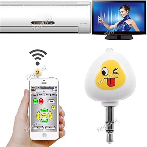 Tv Lautstärke-fernbedienung Für (Flying Colourz Jakcom i2a Smart-Infrarot-Universal-Android drahtlose IR-Fernbedienung für TV-Projektor Klimaanlage Weiß)