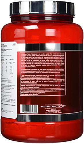 Scitec Nutrition Whey Protein Professional - 4