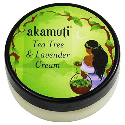 AKAMUTI - Crème aux Huiles de Tea Tree & Lavande - Soin nourrissant pour les peaux à problèmes - Soigne les peaux impures - Apaise les peaux stressées