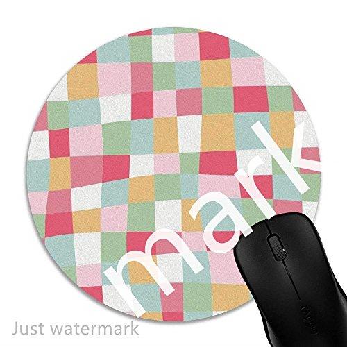 Maus-Pad Buntes Quadrat,7 inch rund Mouse-Pad mit rutschfester Unterlage Standard 1V963