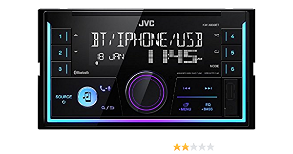 Jvc Radio Kwx830bt 2 Din Bluetooth Spotify Mit Elektronik