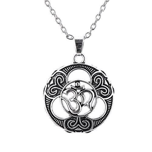 Collar con Colgante de Amuleto Sanskrit de Amuleto Talismán para la P