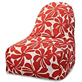 Majestic Home Goods Kick-It Chair Plantation Red