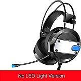 Prom-near Auriculares Cascos Gaming Headset Gamer con Micrófono Juegos Estéreo LED Para PS4 ...