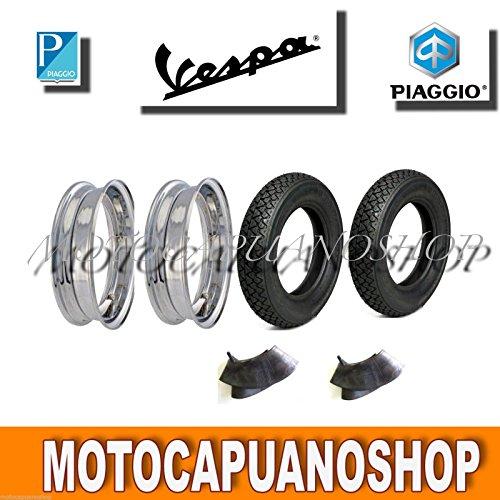 2Creolen 2Reifen Michelin S832Kammern 3.50–10Vespa 125150200PX GL Sprint