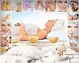 KYKDY carta da parati per pareti 3 d Personalizzata moda bellezza dimagrante papel de parede 3d salute SPA HD sfondo wallpaper behang, 1 metro quadro