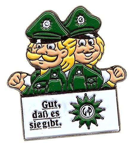 Gewerkschaft der Polizei - Gut das es sie gibt. - Pin aus Metall
