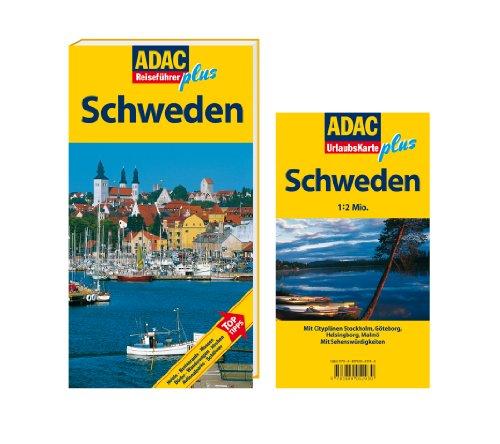 ADAC Reiseführer plus Schweden: Mit extra Karte zum Herausnehmen: Alle Infos bei Amazon