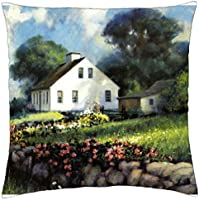 House by the Bay F1 - Throw Pillow Cover Case (18