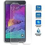Protector de Pantalla para Samsung Galaxy Note 4 Cristal Vidrio Templado Premium, Electrónica Rey®