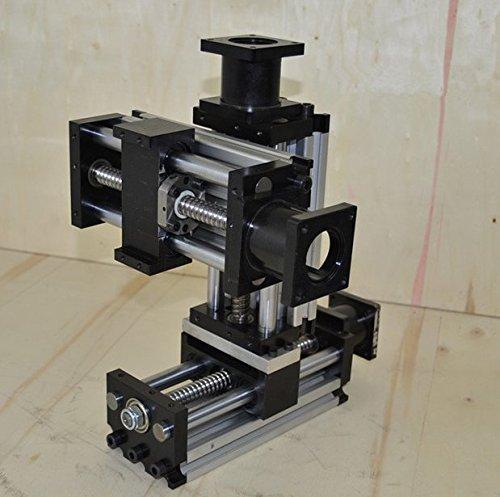 Preisvergleich Produktbild Gowe Elektrische Slider CNC Linear Slider Ball Schraube NEMA23Stepper Motor, Axis Guider, Reisen 300mm für schwere Belastung Z Achse Gravur