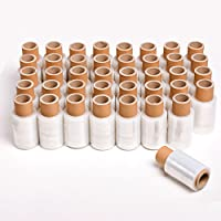 (X40) Rollos Mini Film Embalaje Transparente | Peso: 275 grs | Ancho: 10 cms - TeleCajas