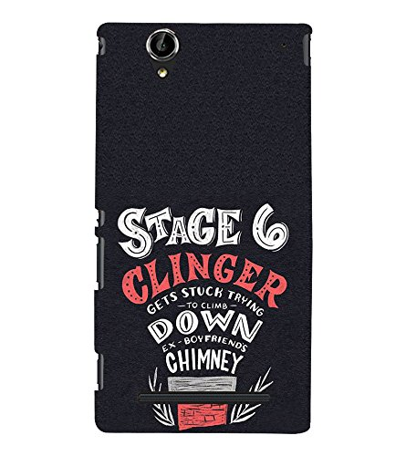 FUSON Stage 6 Clinger chimney 3D Hard Polycarbonate Designer Back Case Cover for Sony Xperia T2 Ultra :: Sony Xperia T2 Ultra Dual SIM D5322 :: Sony Xperia T2 Ultra XM50h  available at amazon for Rs.397