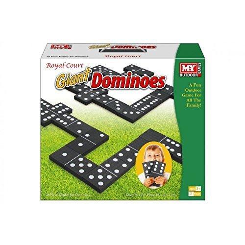 Juegos de dominó de espuma gigante Juego de patio exterior de jardín para niños Oficina de verano de diversión infantil y familiar