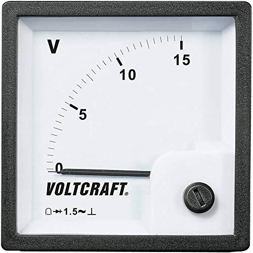 VOLTCRAFT am-72X 72/15V Gerät von Maßnahme zu eingebaut Analog am-72X 72/15V 15V Schwingspule - Schwingspule