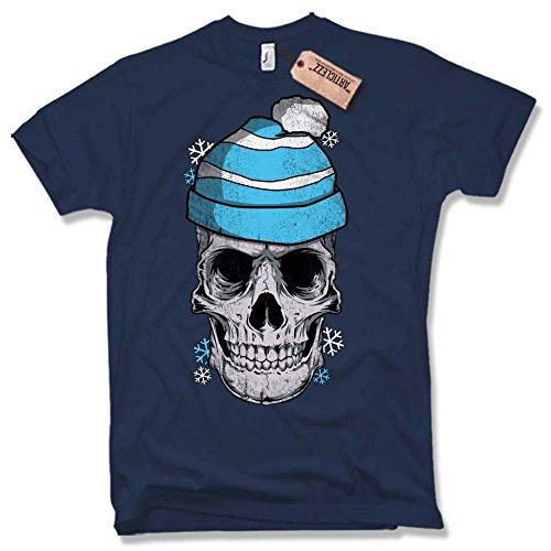 WINTER SKULL T-Shirt, Totenkopf, Fun, versch. Farben Gr. S