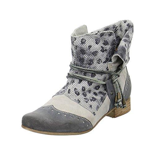 Charme 0155-17e01, Grau Azzuro Bottes Pour Femmes Grises