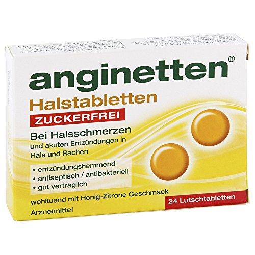 Anginetten Halstabletten zuckerfrei 24 stk