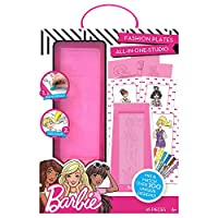 Barbie 765940816981 by Kit Fashion Plates All in One Studio by Horizon Group USA, Color, Design & Create Custom Outfits Unique Fashionista, Multi