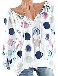 es Xl Amazon Blusas Tops Y Mujer Camisetas Chifon En Rdq4Aqw