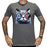 Wingenfelder, T-Shirt, Katze Tour, charcoal grau, L