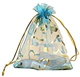 #10: Dms Retail Return Gift Bags Organza Bags Return Gift Favours Shagun Favours Shagun Pouch Bags Wedding Party Favor Jewellery Packing Pouch Dry Fruit Pouch Shagun Potli Bag 16x20 Cms Mix Colors (Pack Of 300)