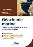 Géochimie marine - Circulation océanique, cycle du carbone et changement climatique - Licence 3 & Master Sciences de la Terre et Sciences de l'environnement