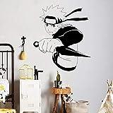 YXWYL Sticker Mural Japonais Manga Sticker Mural Anime Décor À La Maison Enfants Chambre Art Mural Papier Peint