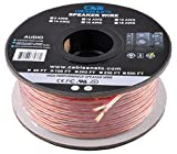 C&E Series 16 Gauge AWG 99.9% Oxygen Free Copper Speaker Wire Cable