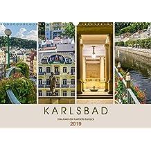 KARLSBAD Das Juwel der Kurstädte Europas (Wandkalender 2019 DIN A3 quer): Historie in malerischer Umgebung (Monatskalender, 14 Seiten ) (CALVENDO Orte)