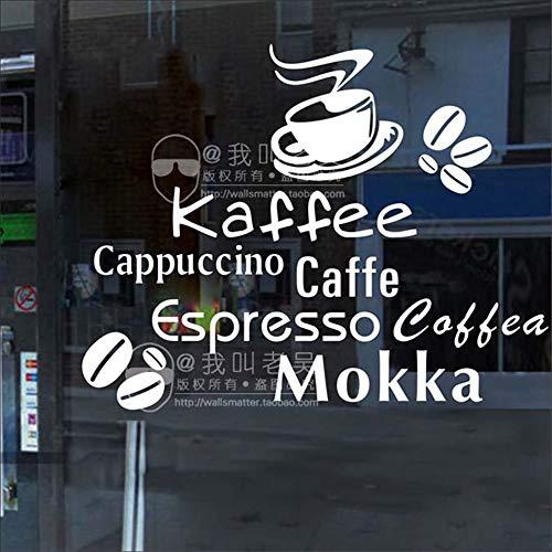 zimmer Milch Tee Coffee Shop Cafés Eis Brot Kuchen Küche Wandkunst Dekor für Café Coffee Shop ()