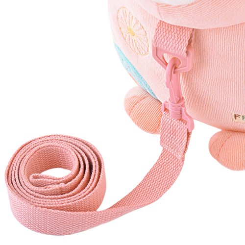 Metoo Sac à dos de bébé anti-perte dessin animé garçons Filles enfants mini- sacs d'école (Lapin Rose)