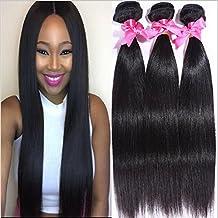 Meylee Postizos 6A peruano Virgen pelo recto 100% peruano humano cabello extensiones Natural Color 100g/ps 3pcs / Lot Total 300g 3ps paquetes , 8 10 12