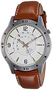 Timex Analog Silver Dial Men's Watch-TW000U908