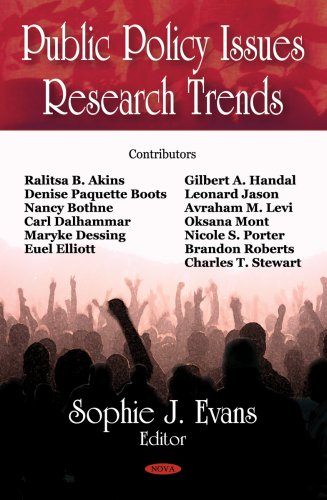 Public Policy Issues: Research Trends
