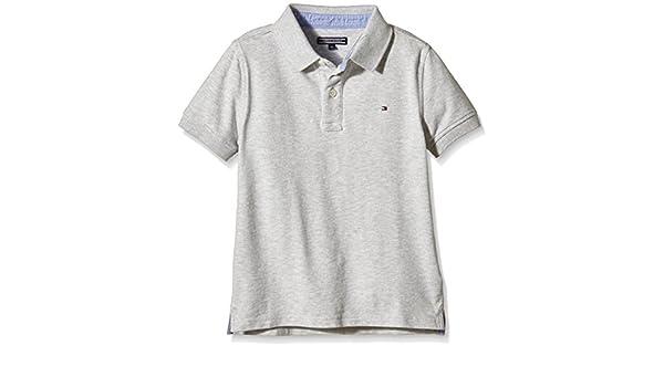 5637395e Tommy Hilfiger Boy's AME Tommy Fashion Polo S/s Shirt: Amazon.co.uk:  Clothing