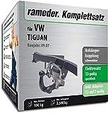 Rameder Komplettsatz, Anhängerkupplung schwenkbar + 13pol Elektrik für VW TIGUAN (113109-06397-1)