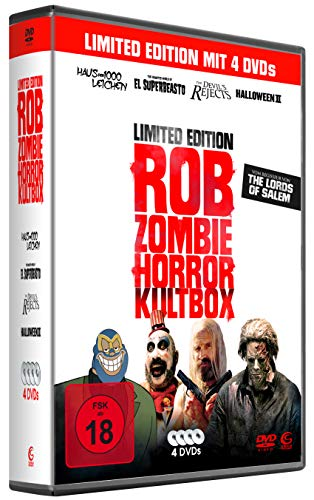 Rob Zombie Horror Kultbox [Limited Edition] [4 DVDs]