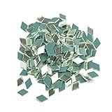 Carreaux de mosaïque en forme de diamant - Décoration pour miroir en verre - 2,5 cm X 1/5,1 cm (200 pièces)...