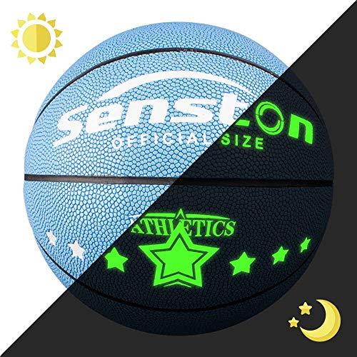 Senston Balon Baloncesto Niños Fluorescente Balon